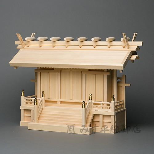横通三社宮 廻縁屋根 2尺 板戸