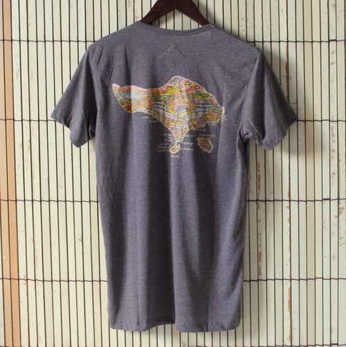 【UM x Rizd Surf Art】Bali surf spot Gray