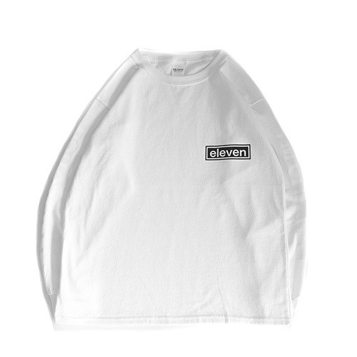 ARM LOGO L/S TEE / WHITE