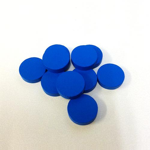 青20mm木製ディスク(約100個)