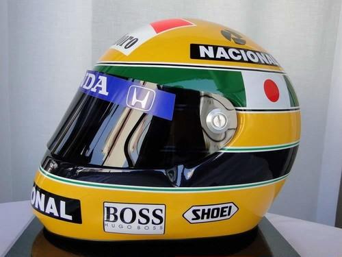 アイルトン セナ AYRTON SENNA 1992年 鈴鹿 F1日本GP仕様 レプリカヘルメット