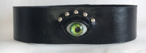 eye choker / green