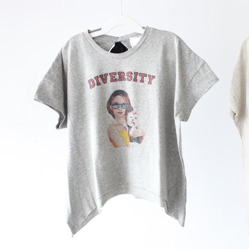 ダイバーシティリボンTシャツ