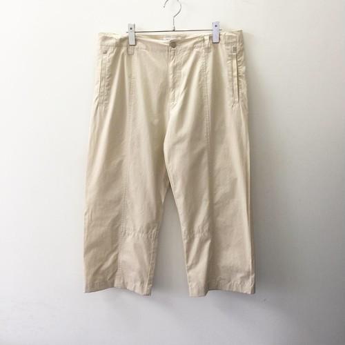 Calvin Klein リメイクパンツ ベージュ コットン 半端丈 メンズ 古着