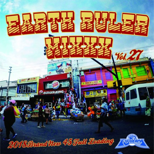 EARTH RULER MIXXX vol.27 mixed by ACURA