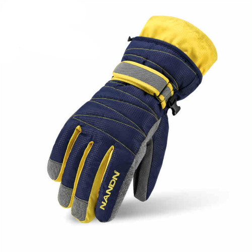 Winter Family Skiing Gloves Windproof Waterproof Riding  Thickness Cotton Gloves Sports Ski Snowboard Snow Gloves Adult  Children