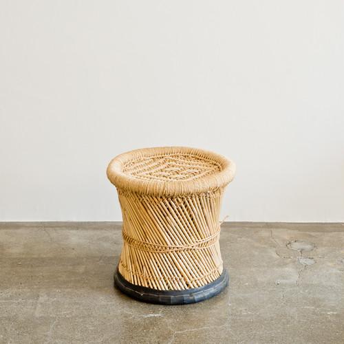 JUTE STOOL インドのジュート(麻)とヨシ(葦)のスツール