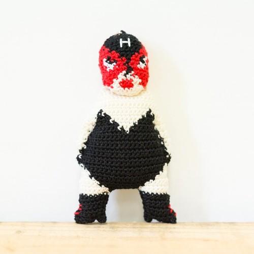 【H】ハニートランプまりこのマスコット(ストラップ) - 編みぐるみ -