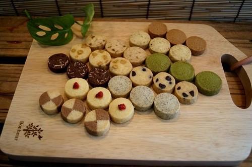 【北海道産小麦100%の手作りクッキー】/お味見セット/クッキー/全10種/送料無料!!自然素材
