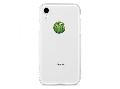 リアルすいか - XS XR XSmax X 8 8Plus 7 7Plus 6sPlus 6s SE 5s iPhone ケース -