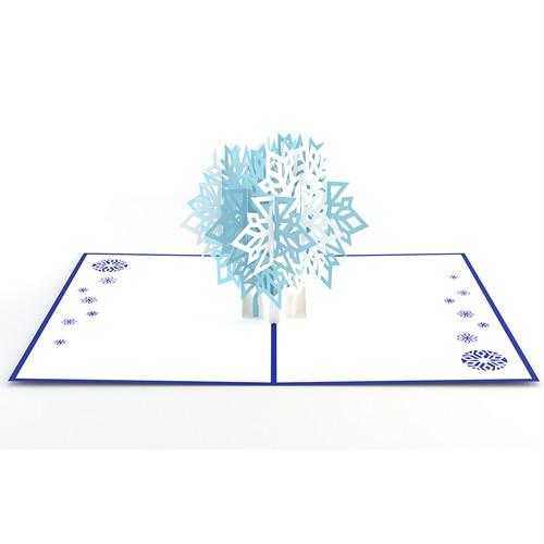 3DポップアップカードI LOVEPOP<<Snowflake>>