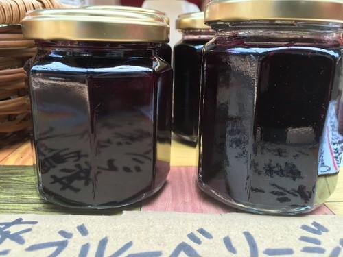 北海道自然栽培 Blue Berry と北海道の甜菜糖で作った    ブルーベリージャム      120g