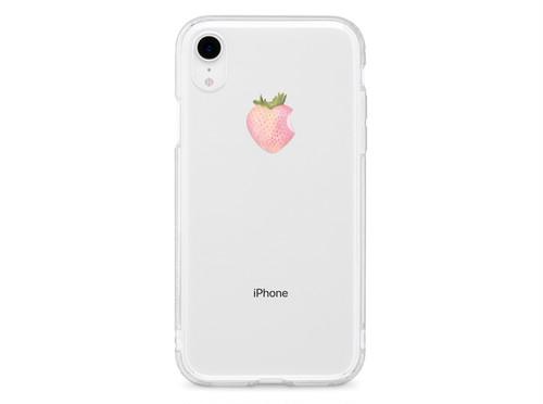 リアル白いいちご XS XR XSmax X 8 8Plus 7 7Plus 6sPlus 6s SE 5s iPhone ケース