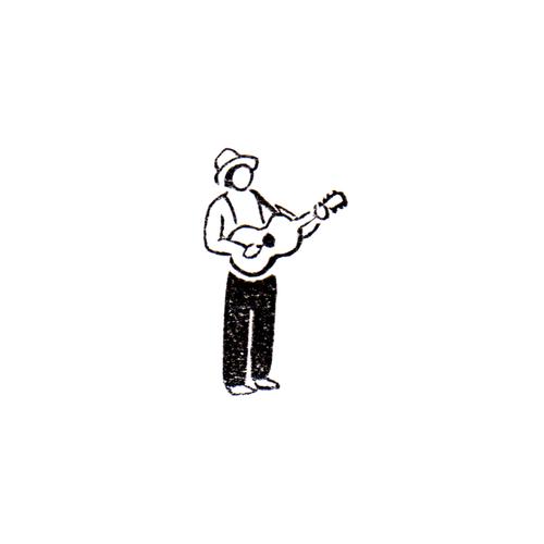 街は鳴る / ギター Music of the people / Guitar