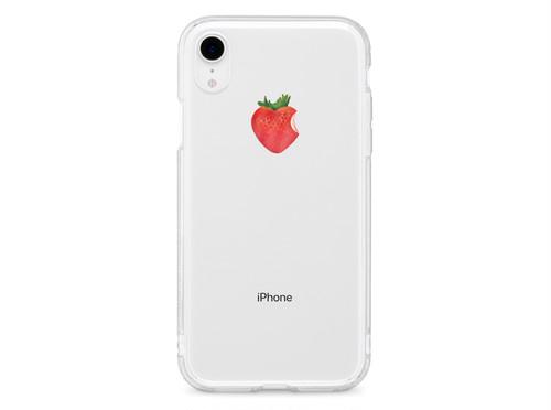 リアルいちご XS XR XSmax X 8 8Plus 7 7Plus 6sPlus 6s SE 5s iPhone ケース