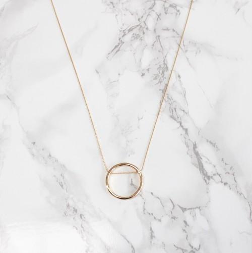 Big square necklace