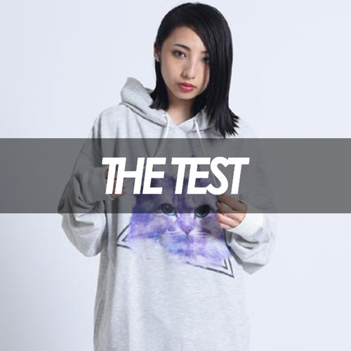 THE TEST - SPACYCAT(ASH WHITE)