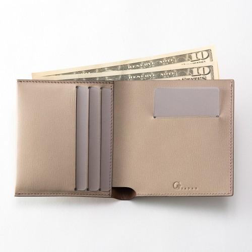 Slim Bi-fold wallet / Grege