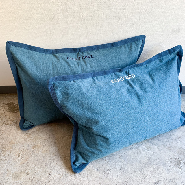 PILLOWCASE  -  denim