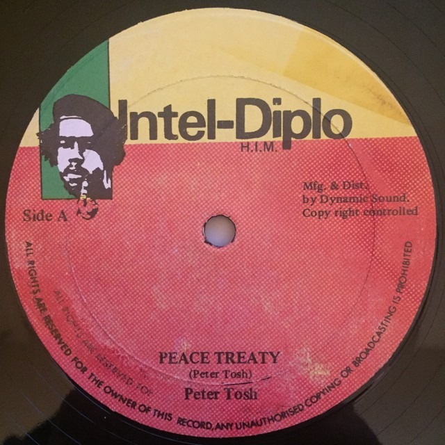 Peter Tosh ‎– Peace Treaty / Glass House