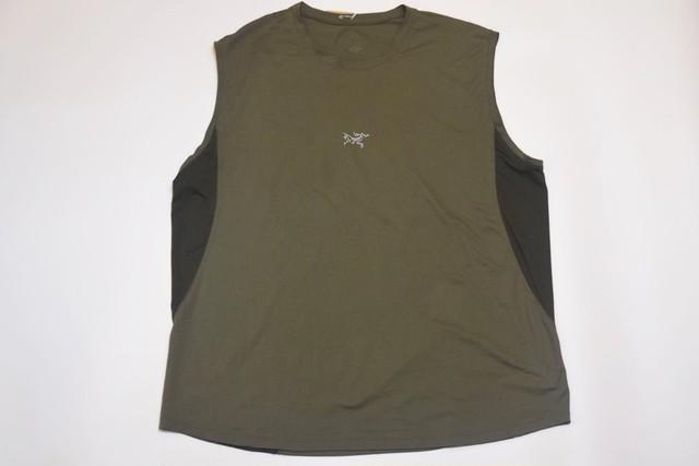 USED ARC'TERYX Sleeveless Shirt -L-XL 01116