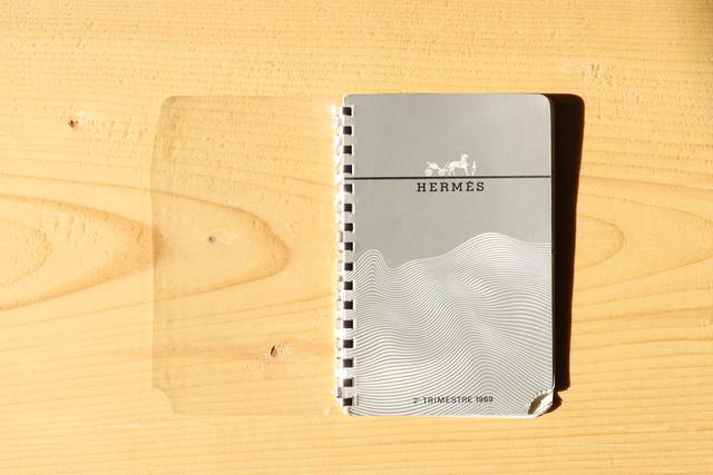 【HERMES/エルメス】ノベルティーダイアリー( 2e TRIMESTRE 1969)