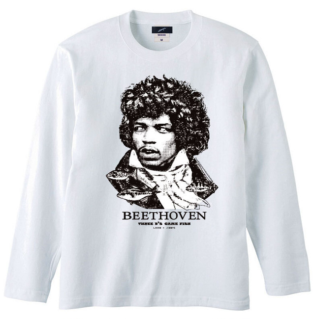 【在庫分入荷しました!】【2021NEW】LAHM vintage Long sleeve TEE 「Three B's game fish」 LAHM/エルエーエイチエム