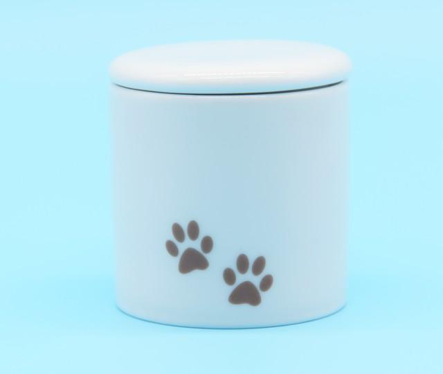 足あとミニ骨壺 【選べる3色】小動物サイズ・分骨サイズ