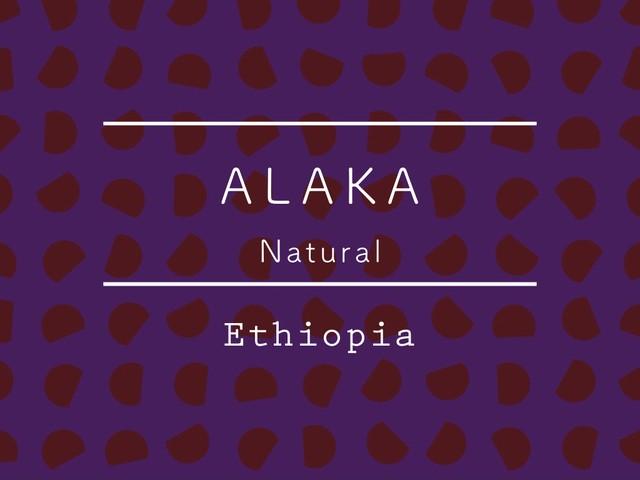【200g】エチオピア / ALAKA Natural