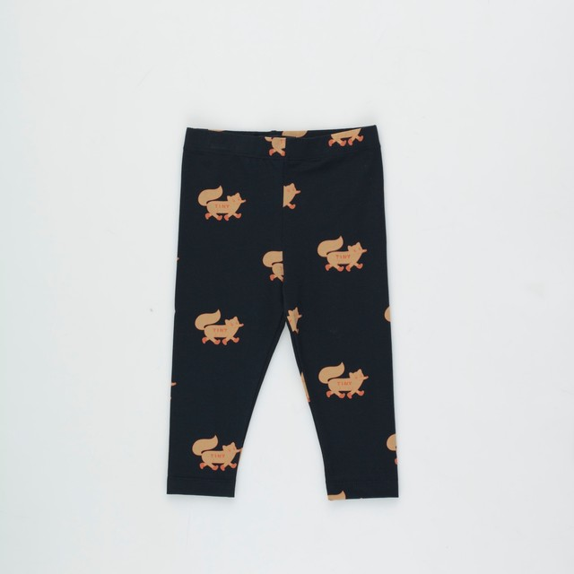 《TINYCOTTONS 2020AW》FOXES PANT / navy × camel
