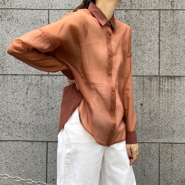 シースルーシャツ(CA0S-T186)