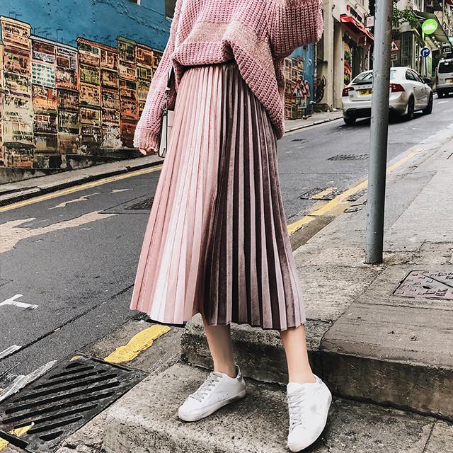 【bottoms】快適高級感プラス魅力的スカート