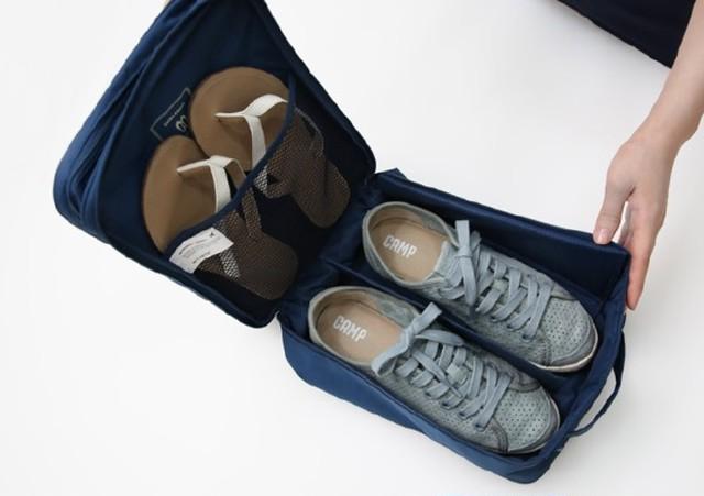 トラベルポーチ 旅行ポーチ シューズバッグ ウォッシュバッグ シューズポーチ 靴収納 小物 旅行 国内 海外旅行用 収納ポーチ
