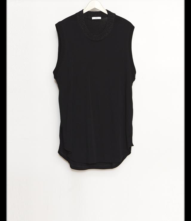No Sleeve Cut-Sew / Black