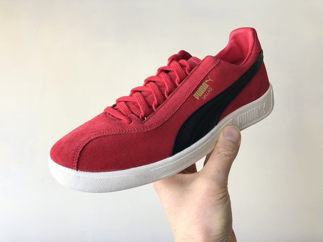 PUMA DALLAS 1899 / AC MILAN (TANGO RED-PUMA BLACK)
