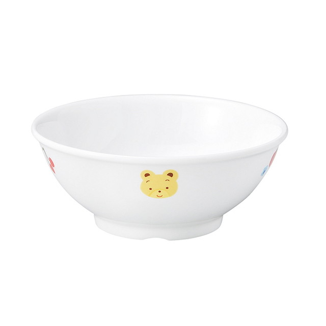 11.5cm こども茶碗 強化磁器 フルーツべあ【1003-1280】