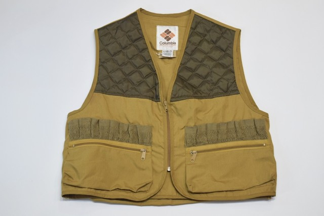 USED 80s Columbia Hunting Vest -Large 01149