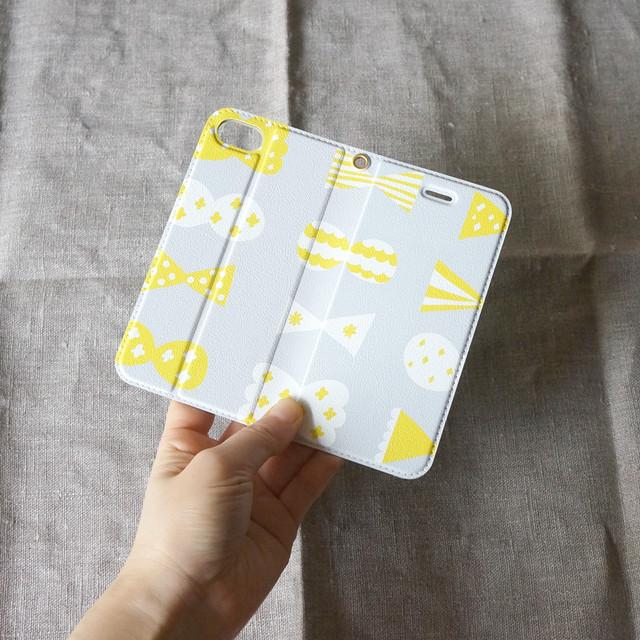 帯なし手帳型 スマホケース のサイズ/注意事項
