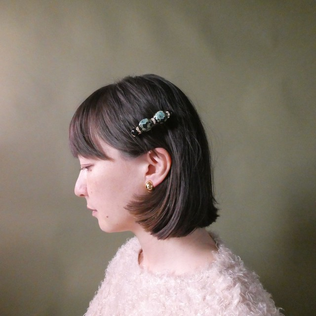 the knit + vintage collection 4 the pearl hair clip edition 5