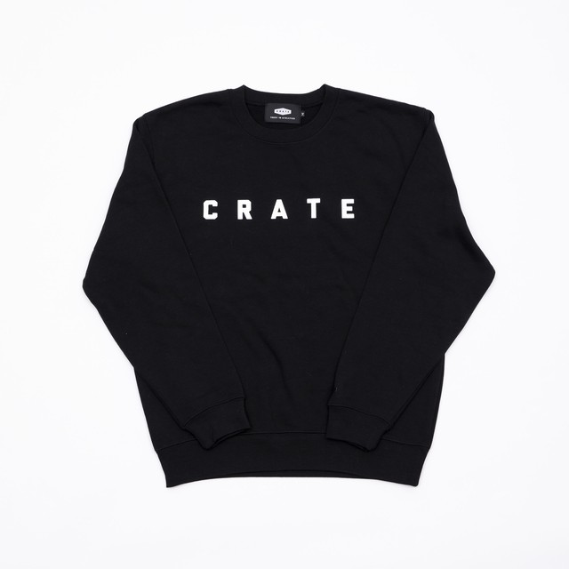 CRATE Basic Sweat BLACK