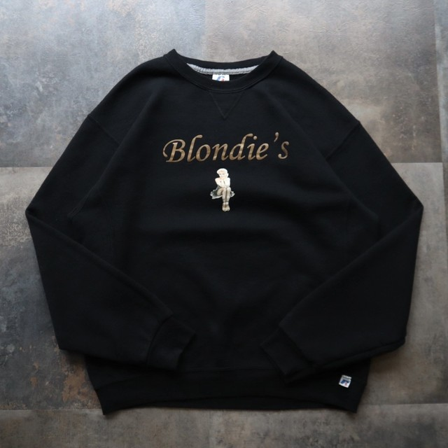 Black  print design sweat