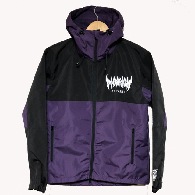 MARRION APPAREL LOGO シェルパーカー 2020  (Purple)