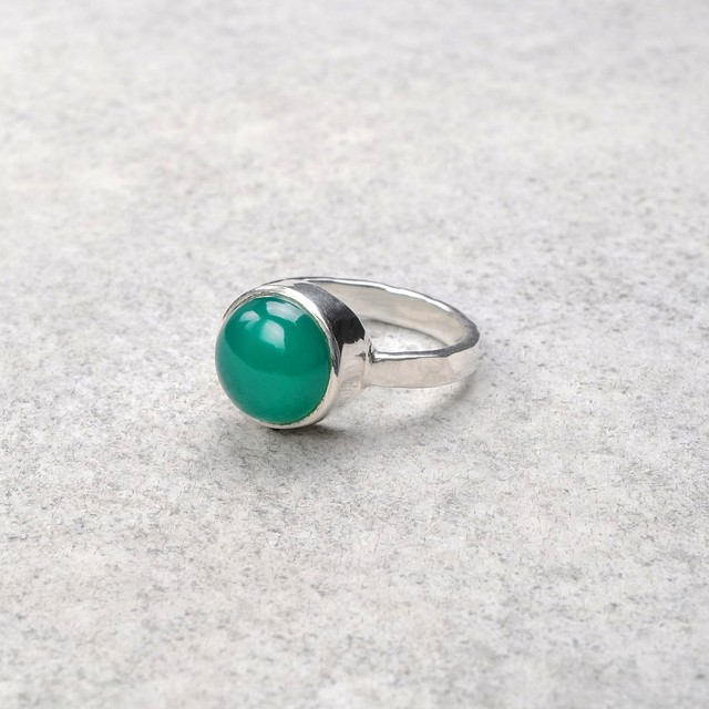 SINGLE STONE NON-ADJUSTABLE RING 094