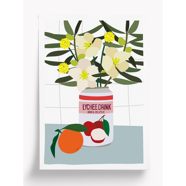 Taxi Brousse - Poster - LYCHEE! (A4)