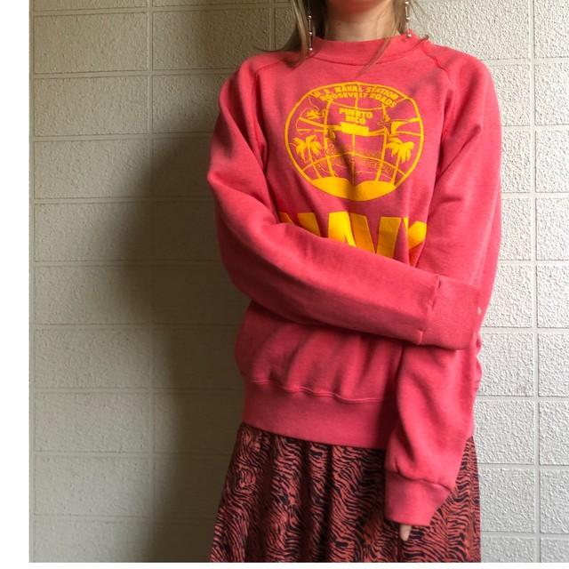 US pink logo sweat