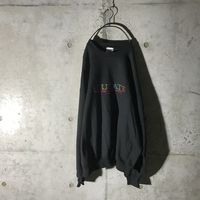 [used]one point black sweat