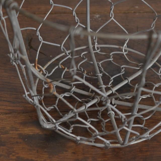 Wire Basket / ワイヤー バスケット 〈キッチン雑貨・ディスプレイ・収納〉HW1906-0006