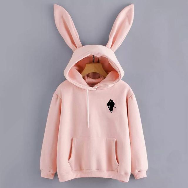 Rabbit Hoodie(2color)