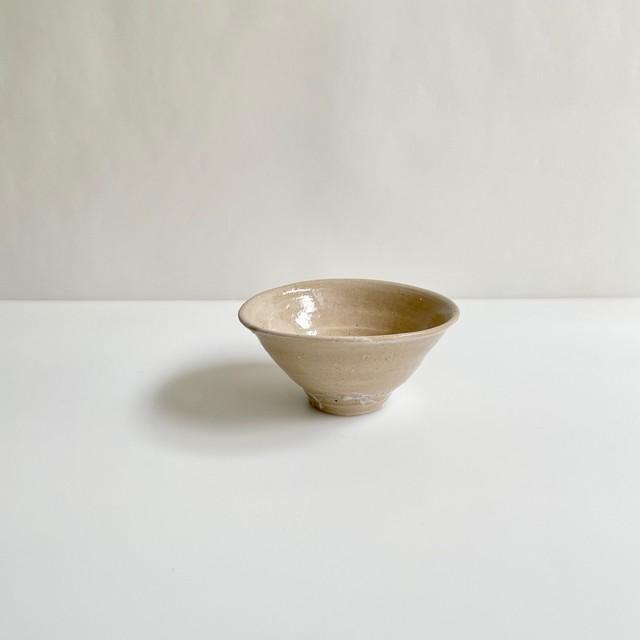 清水善行    長石釉 五寸鉢