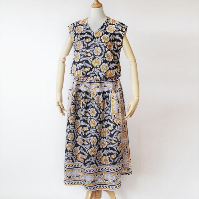 カンガのセットアップ|アフリカ布 服 / カンガ服
